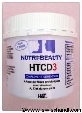 HTCD3 - POUR LA SANTE DES CHEVEUX ET DES ONGLES